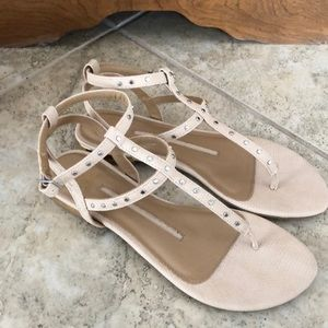 New Direction gladiator flats